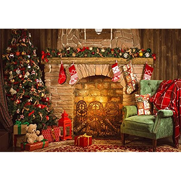 Yeele Christmas Photos Backdrop 6x4ft Toy Train with Christmas Tree Photography Background Selfie Portrait and Holiday Picture New Year Xmas Photo Booth Kids Adults Portrait Photoshoot Props Wallpaper