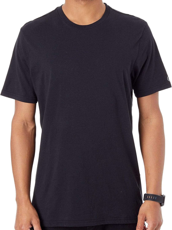 Volcom Camiseta Solid Negro (M, Negro)