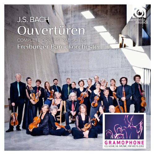 Bach, J.S.: Orchestral Suites Nos.1-4 by HARMONIA MUNDI