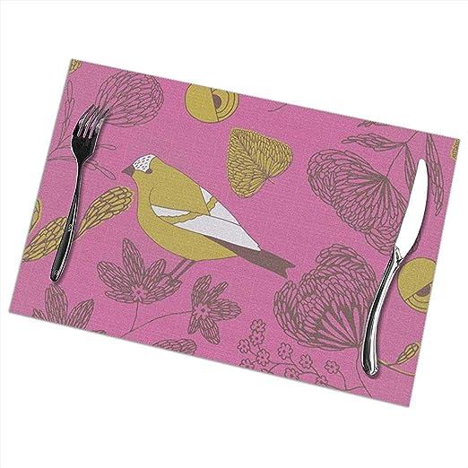 Juego de 6 tapetes dulces lindos para manteles para mesa de comedor: Amazon.es: Hogar