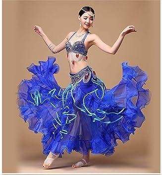 KLMWDDPWY Danza del Vientre Mujer Ropa De Danza del Vientre 3 ...