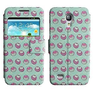 LEOCASE Del Búho Funda Carcasa Cuero Tapa Case Para Samsung Galaxy S4 Mini I9190 No.1000381