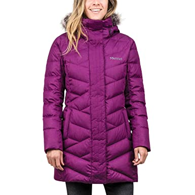 07c4e17e Marmot Women Varma Long Quilted Hooded Down Jacket 1229212 Plum L at ...