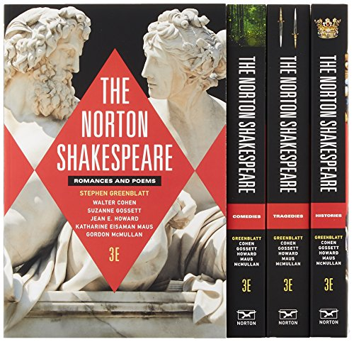 The Norton Shakespeare (Third Edition)  (Vol. Four-Volume Set) (Quick Access Edition 3rd)
