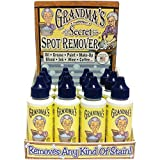 Grandma's Secret Spot Remover 16 Bottles in Display Box 2oz Bottles-Just a Drop Removes Virtually All Kinds of Stains!