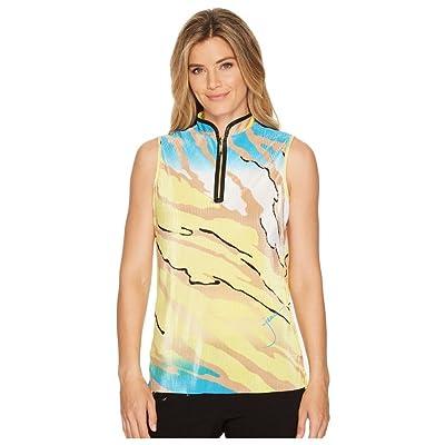 (ジェイミー サドック) Jamie Sadock レディース トップス ポロシャツ Le Tigre Crunchy Textured Sleeveless Top [並行輸入品]