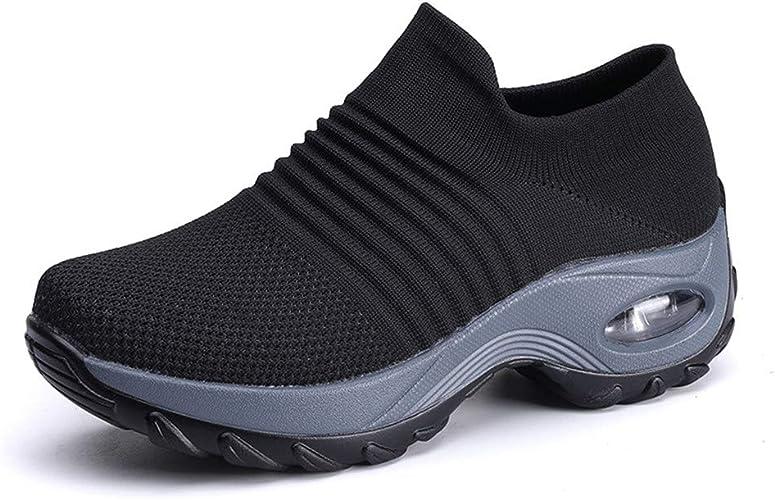 xuzomedia Sock Sneakers Women Walking