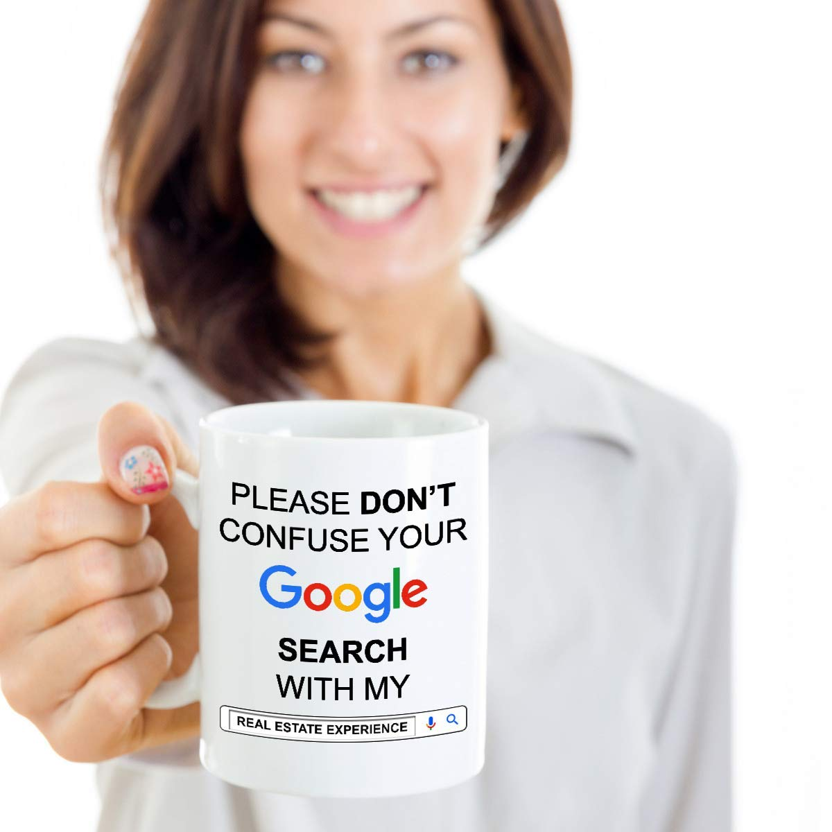 Amazon Funny Gift For Real Estate Agent Realtor Gifts Idea Coffee Mugs Google Experience Mug Tea Cup 11 Oz White Cups Kitchen Dining