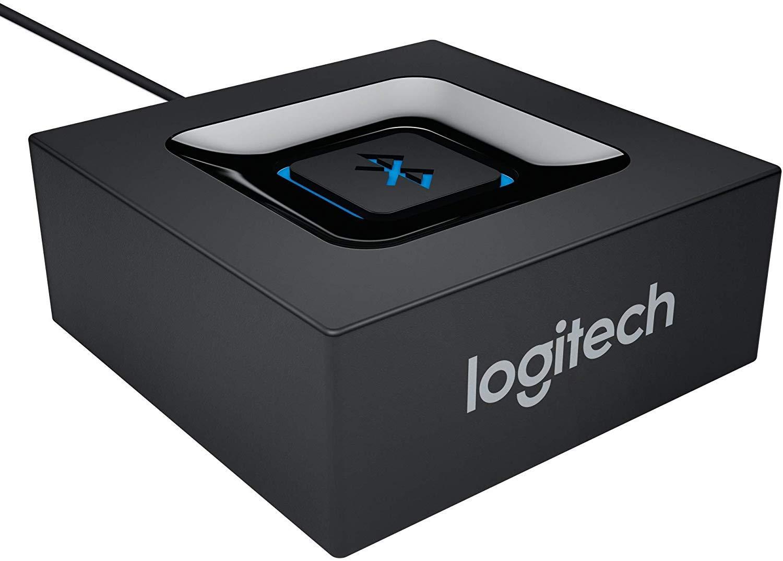Logitech 980-000912 Bluetooth Audio Adapter/ Receiver, Negro ...