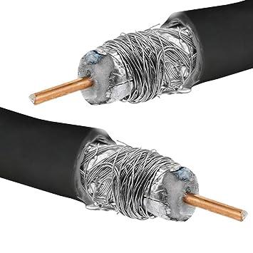 Cablematic RG6U Bobina coaxial RG6U/5 C-FB 100 m