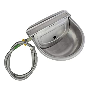 Lucky Farm Automatic Water Feeder Trough Bowl