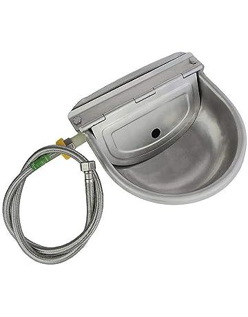 Bujingyun 1//2PT Stainless Steel Automatic Pig Nipple Water Drinker Feeder Waterer for Piglets-5pcs