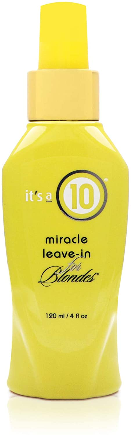 It's a 10 Haircare Miracle Leave-In for Blondes, 4 fl. oz
