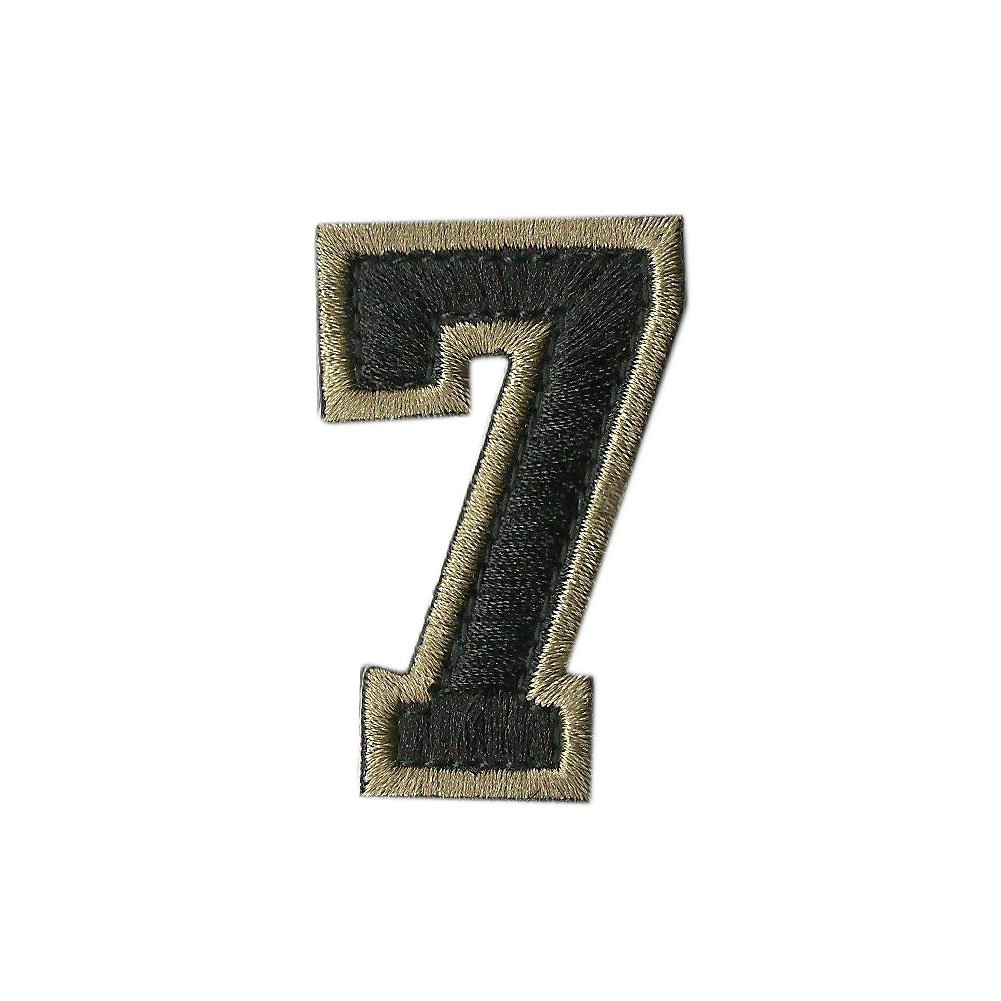 Tactical Numbers Patches - Coyote dig-8-coyte-p