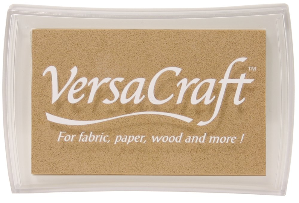 Pine Tsukineko Full-Size VersaCraft Fabric and Home Decor Crafting Pigment Inkpad