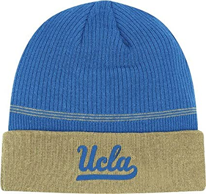 2747df478e2 Image Unavailable. Image not available for. Color  adidas UCLA Bruins 2011 Sideline  Cuffed Coaches Knit Hat Beanie