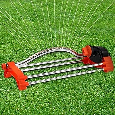 Oscillati 18 Agujeros de riego de césped aspersor jardín Agua jardín riego oscilante oscilatina Spray de Hierba Ajustable en Spray: Amazon.es: Electrónica
