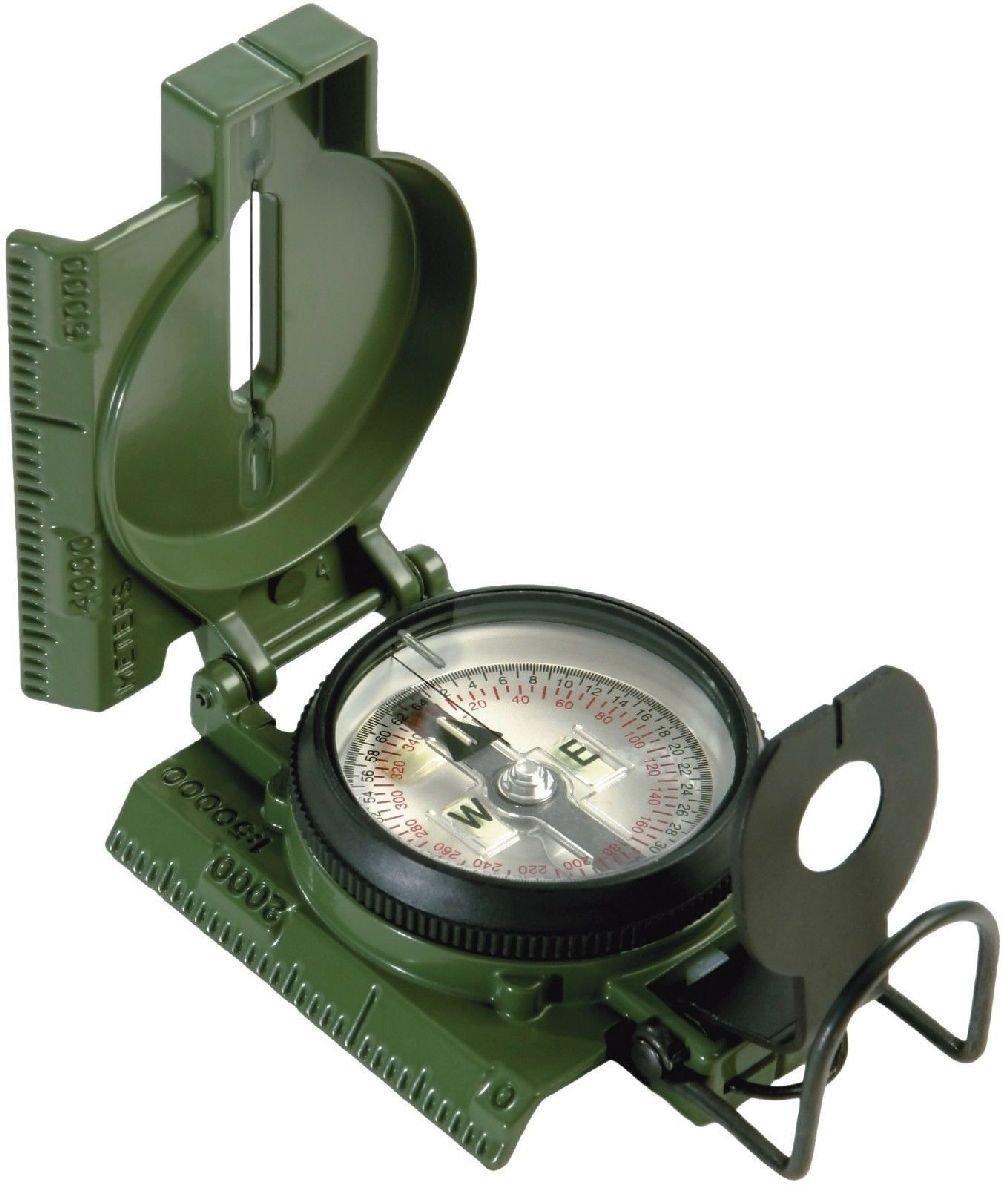 Official U.S. Military Tritium Lensatic Compass Battle Compasses W/ Pouch