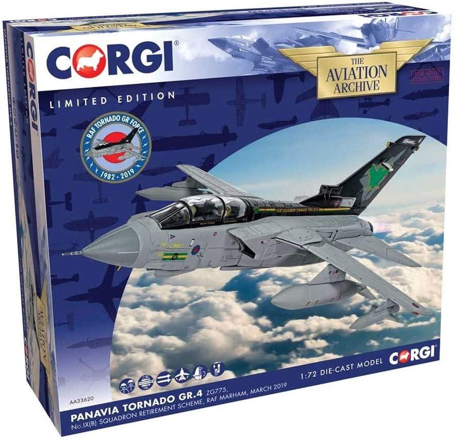 Corgi AA33620 Panavia Tornado GR.4 ZG775 RAF Marham 2019 (1:72 Scale): Amazon.es: Juguetes y juegos