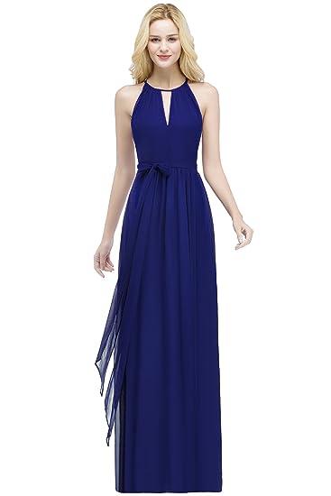Bekleidung Damen Abendkleider Misshow Damen Chiffon ...