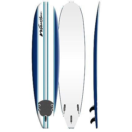 Amazon Com Wavestorm 9 Classic Pinline Surfboard Sports Outdoors
