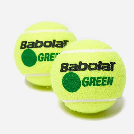 Amazon.com : Babolat Green x3 Tennis Balls, Green, One Size : Sports & Outdoors