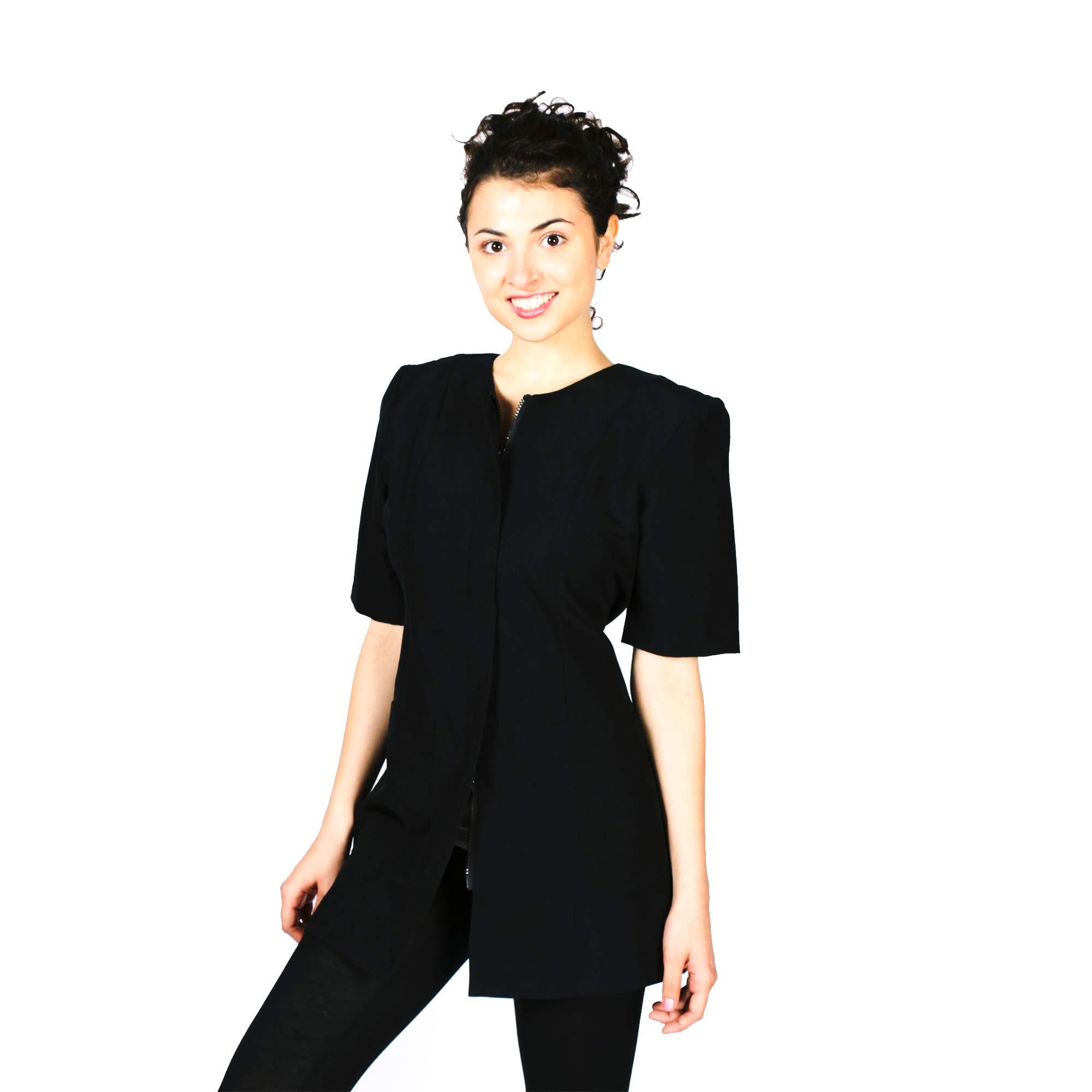 Smockers Cathy Professional Salon Smock Stylist Jacket Cosmetology Uniform