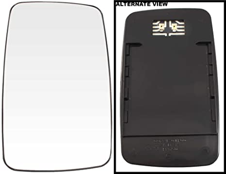 APDTY 67396 Replacement Side View Mirror Snap On Glass Right Passenger Fits