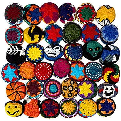 Image of Adventure Trading Guate Footbag Bowl (36-Piece) Footbags