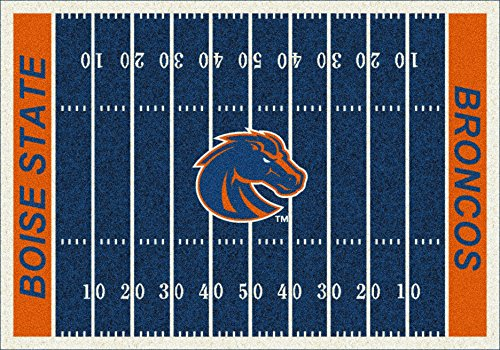 (Boise State College Home Football Field Rug:)