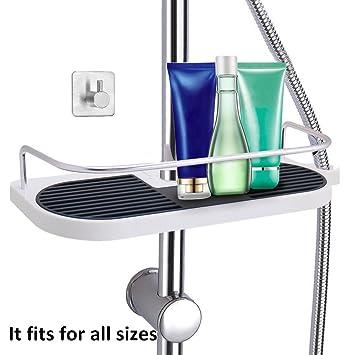 duschablage dusche rack regal zum hngen aus hochwertig abs massives kupfer mit duschehalter und haken - Duschzubehor Zum Hangen