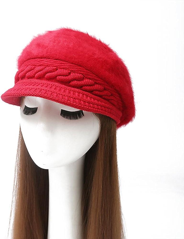 Winter Warm Hats Women Faux...