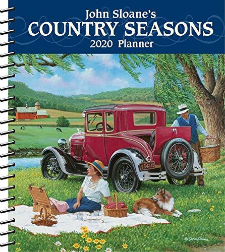 (John Sloane's Country Seasons 2020 Monthly/Weekly Planner Calendar)