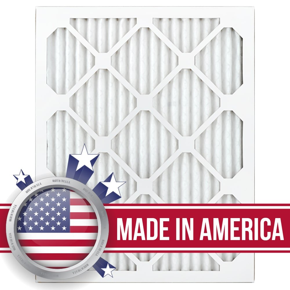 AIRx Filters Health 16x20x1 Air Filter MERV 13 AC Furnace Pleated Air Filter Replacement Box of 12, Made in the USA
