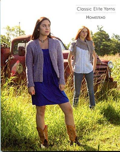 Homestead - Classic Elite Yarns Knitting Pattern Book 1403