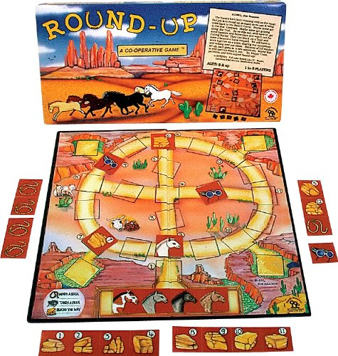 Family Pastimes Round-Up - A Co-operative Game