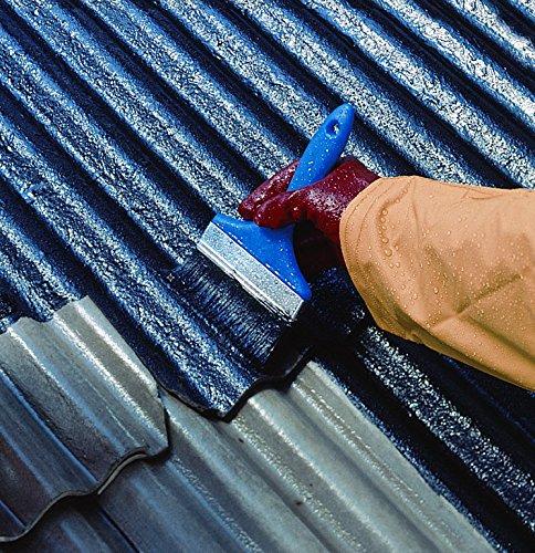 Watco Répar'toit® peinture d'étanchéité toiture à base de caoutchouc, stoppe les fuites, 5KG noir