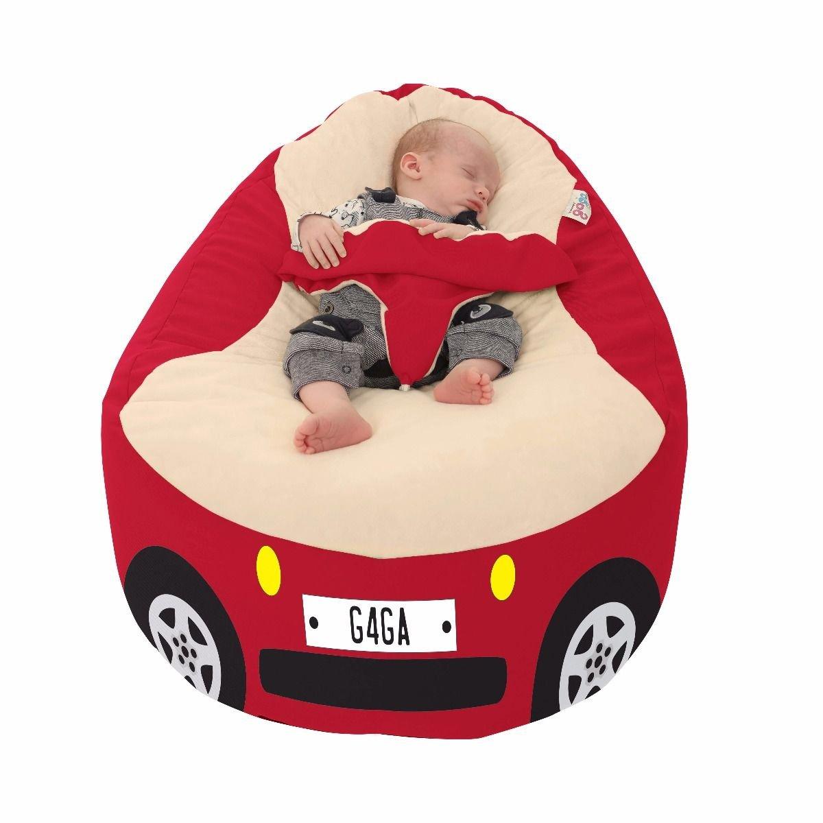 Racing Car Gaga+ Baby to Junior Beanbag (Charcoal) rucomfy Bean bags