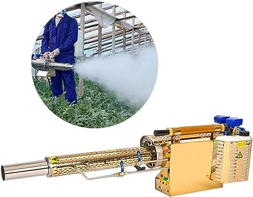 Pulsorreactores nebulizador térmico, pulverizador for el jardín de malezas Larga Distancia del Aerosol de Agua de la Niebla y el Humo de 2 Modos for Usar for Las Malas Hierbas Plantas ZHW345: