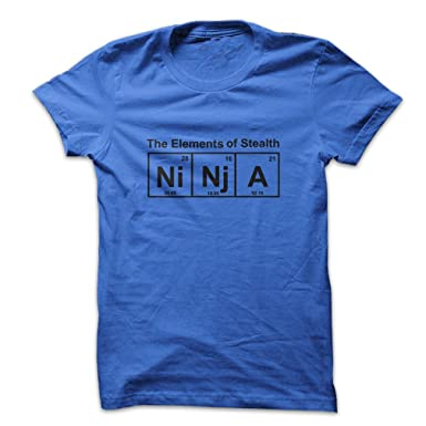 Mad Over Shirts Element Of Stealth Ninja Cool Dream Cartoon ...