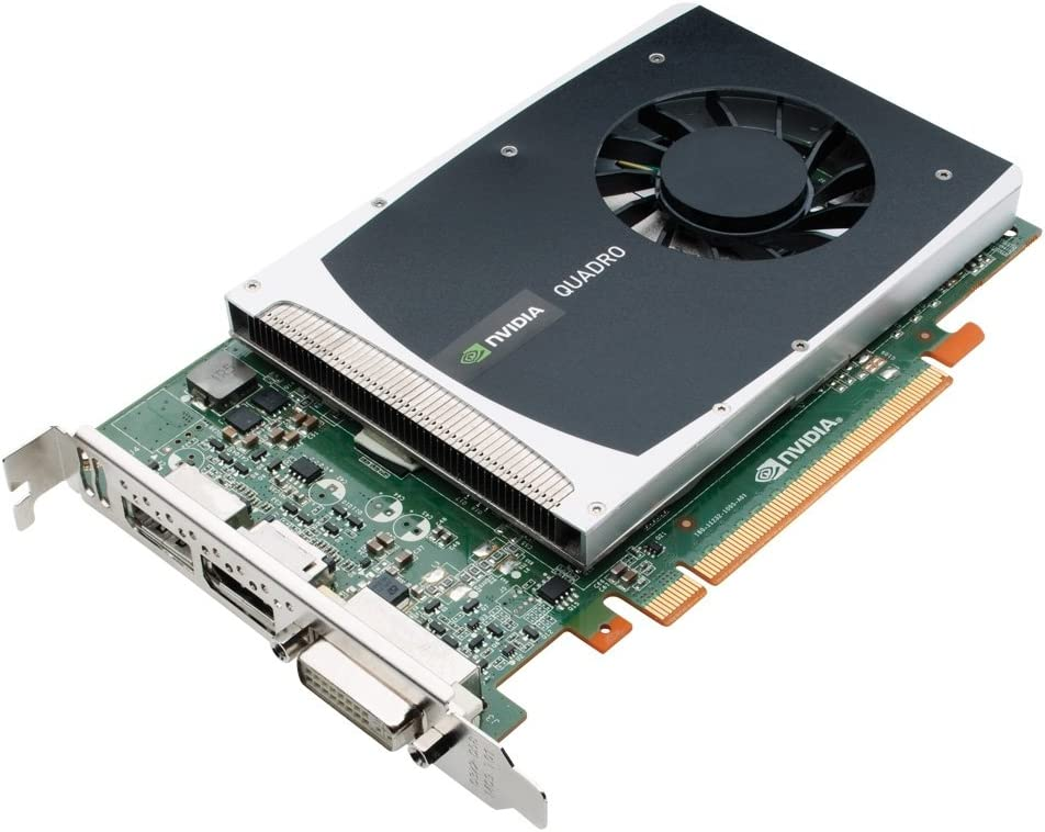 NVIDIA Quadro 2000 by PNY 1GB GDDR5 PCI Express Gen 2 x16 DVI-I DL and Dual DisplayPort OpenGL, Direct X, CUDA and OpenCL Profesional Graphics Board, VCQ2000-PB