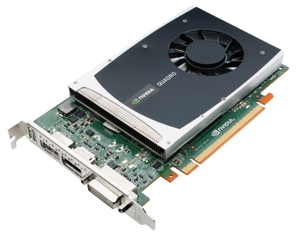NVIDIA Quadro 2000 by PNY 1GB GDDR5 PCI Express Gen 2 x16 DVI-I DL and Dual DisplayPort OpenGL, Direct X, CUDA and OpenCL Profesional Graphics Board, VCQ2000-PB