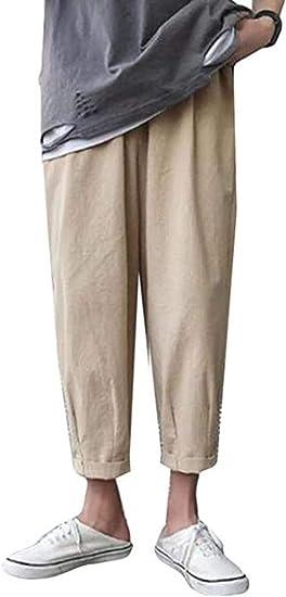 [BOOLIJ] メンズ デニムパンツ ジーンズ ダメー加工美脚効果がある裾口が 夏 クロップドパンツ ブルー かっこいいボトムス ズボン ストレート 原宿風パンツ デート おグパンツ カジュアル