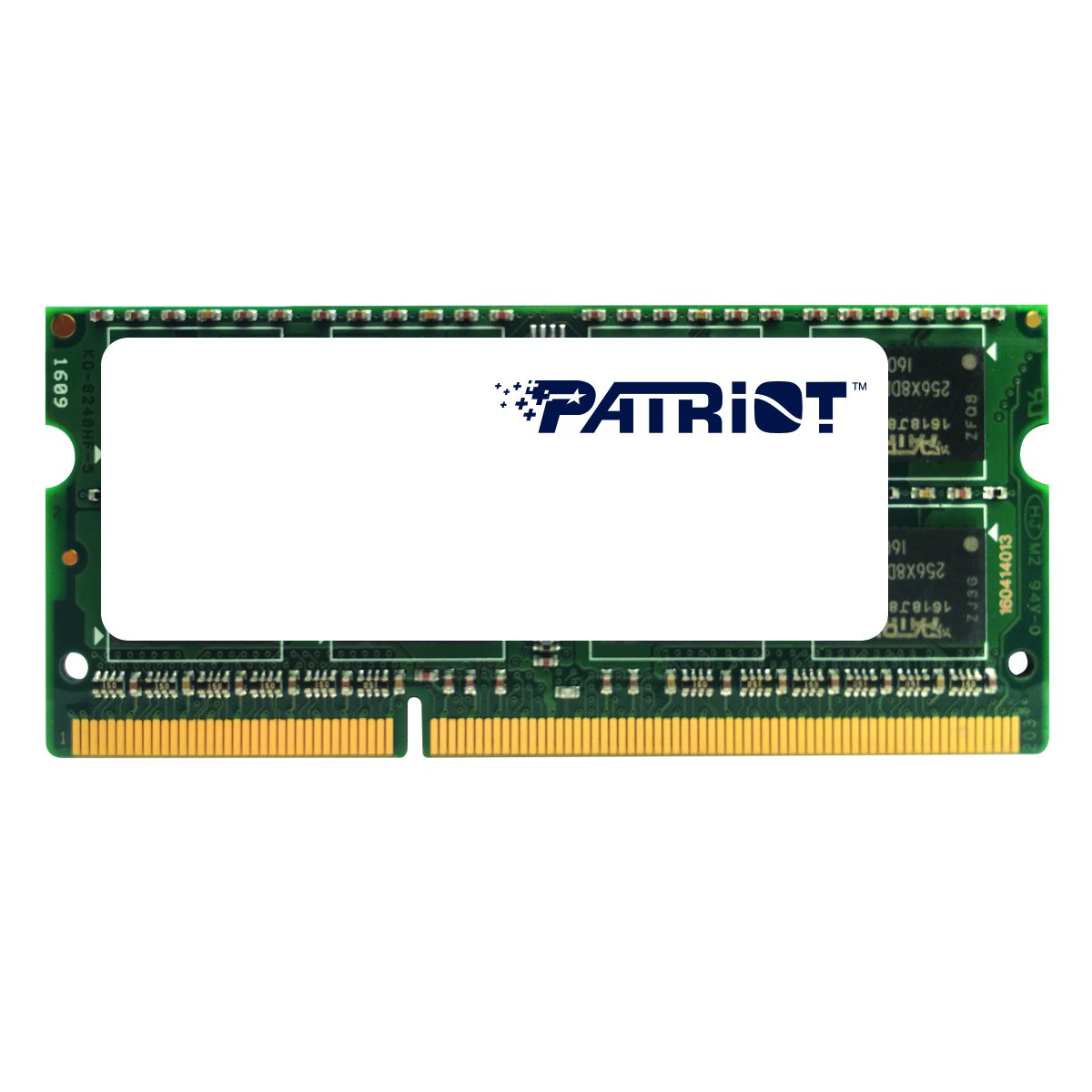 Patriot 1.35V 8GB DDR3 1600MHz PC3-12800 CL11 SODIMM Memory PSD38G1600L2S by Patriot