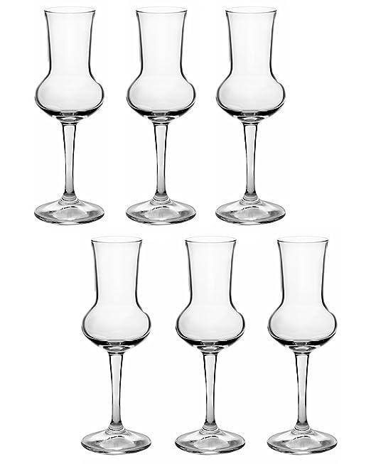 47 opinioni per Bormioli Rocco Riserva Grappa 80ml, 6 bicchieri