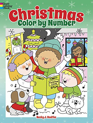 Christmas Color by Number (Dover Children's Activity -