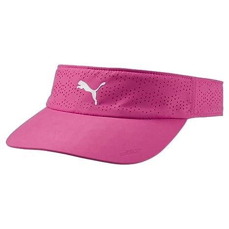 0491c1b74a0 Amazon.com   Puma Golf 2018 Women s Duocell Visor (Carmine Rose