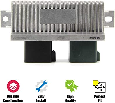 DY-876 Glow Plug Control Module for Ford Super Duty F250 F350 6.0L 7.3L 6.4L Glow Plug Switch #YC3Z-12B533-AA