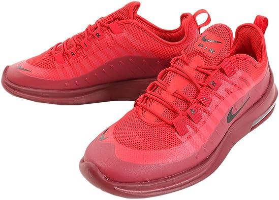 Nike Tenis Air MAX Axis - AA2146601 - Rojo - Hombre
