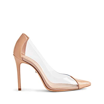 SCHUTZ Women's Cendi Point Toe Vinyl Pumps: Shoes